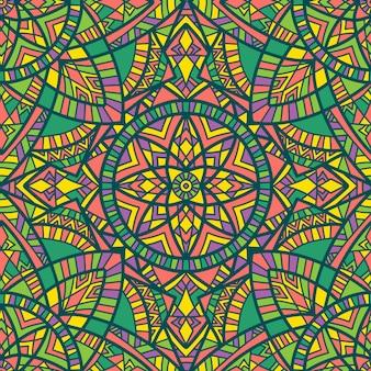 Mandala, ornement tribal.