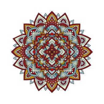 Mandala ornemental rond