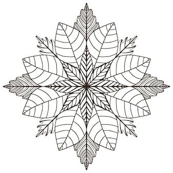 Mandala ornemental