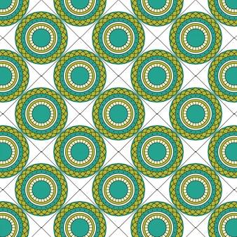 Mandala seamless pattern de texture circulaire