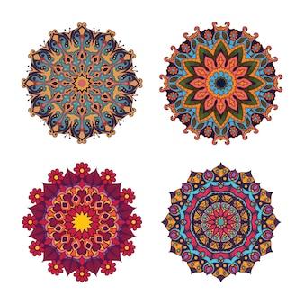 Mandala style boho