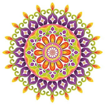 Mandala traditionnel design