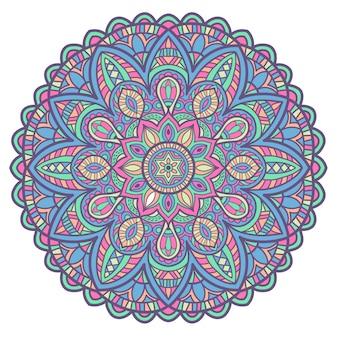 Mandala vintage design pour l'impression