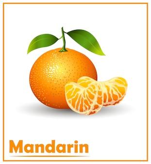 Mandarine aux fruits