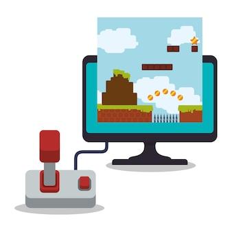 Manette de jeu en ligne