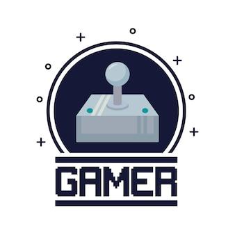 Manette de jeu vidéo classique