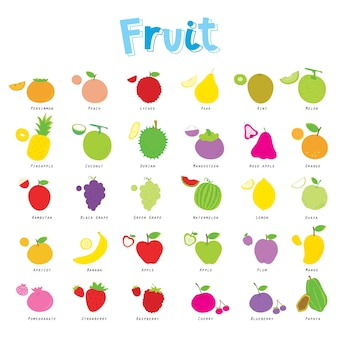 Manger des aliments de fruits