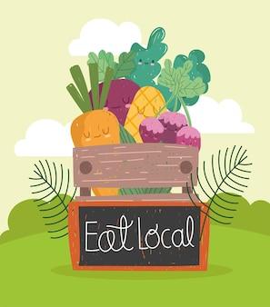 Manger du marché local