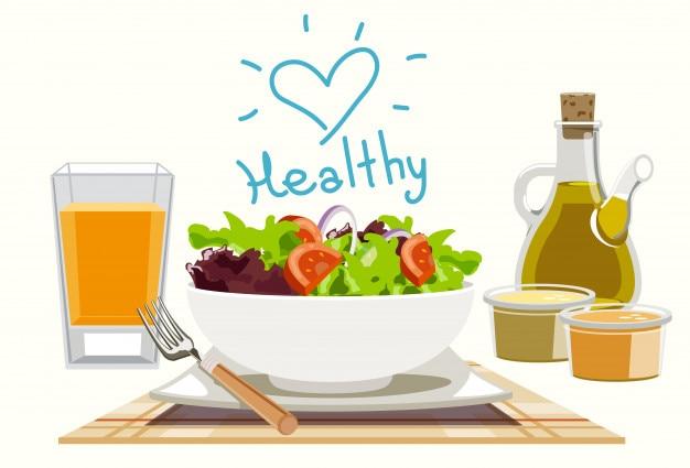 Manger des salades pour vous en bonne santé