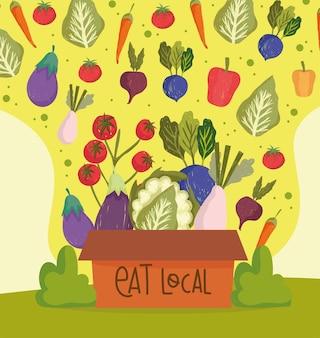 Mangez de la nourriture locale