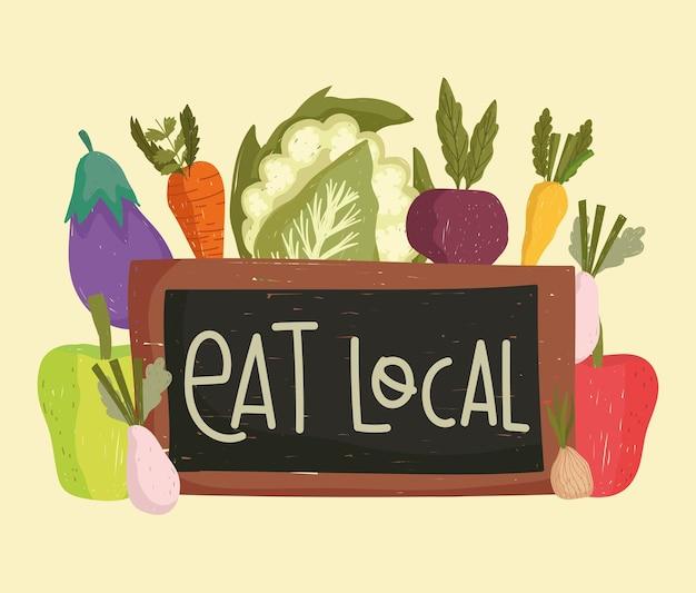 Mangez une planche locale