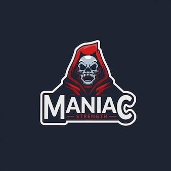 Maniac kill logo sport