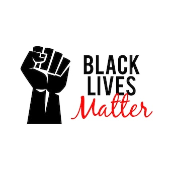 Manifestation de black lives matter