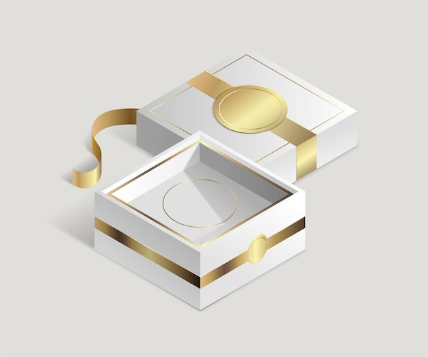 Maquette de bijoux 3d réaliste
