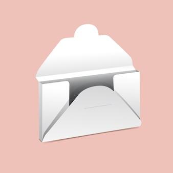 Maquette de boîte de rangement