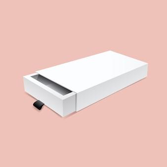 Maquette de boîte à tiroirs