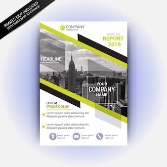 Maquette business flyer