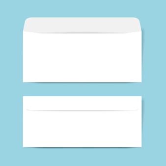 Maquette de conception d'enveloppe en papier