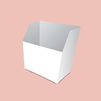 Maquette de conteneur de collation