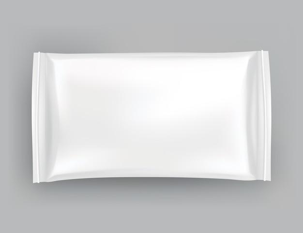 Maquette d'emballage ou modèle de pochette