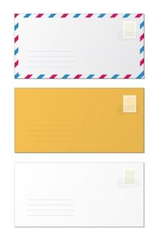 Maquette d'enveloppes