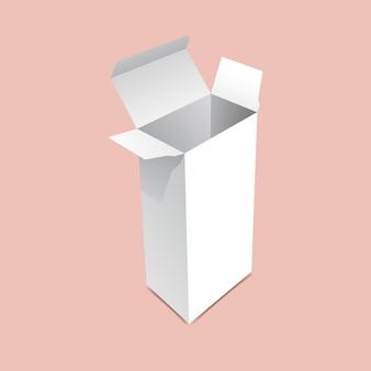 Maquette de grande boîte