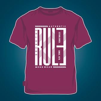 Maquette graphique t-shirt design cool