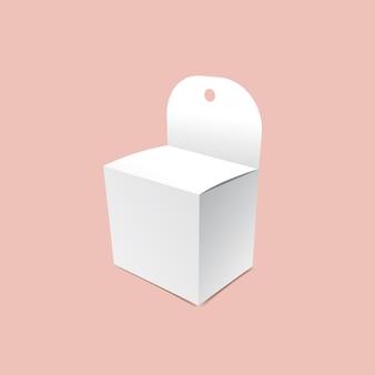 Maquette de mini-boîte suspendue