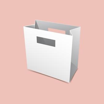 Maquette de sac à poignée