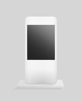 Maquette de support d'écran numérique
