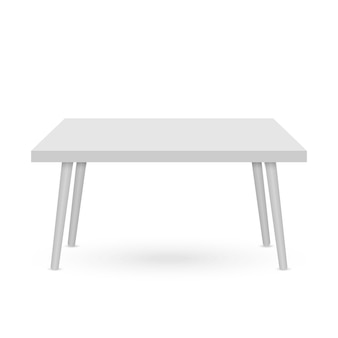 Maquette de table 3d. modèle de présentation d'objet ..
