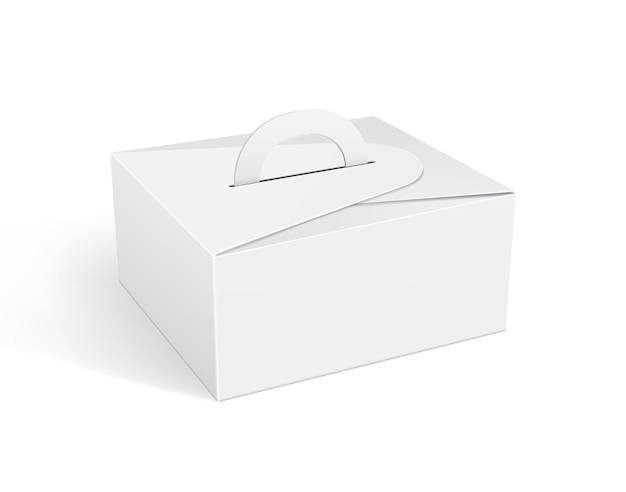 Maquettes d'emballage de boîtes alimentaires en papier