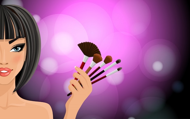Maquillage de fond