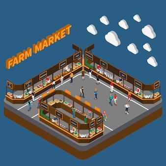 Marché fermier de bazar