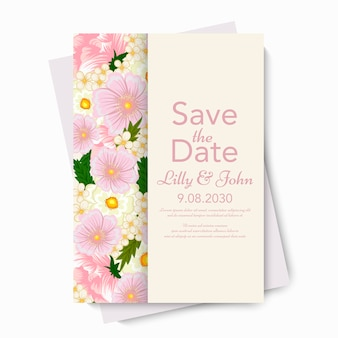 Mariage floral