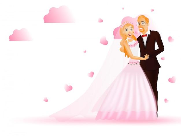Mariée et le marié.