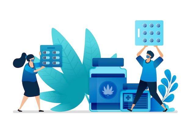 Marijuana naturelle pour la médecine. vendre de la marijuana pour la santé.