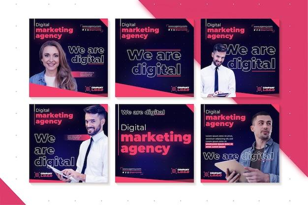 Marketing business instagram posts