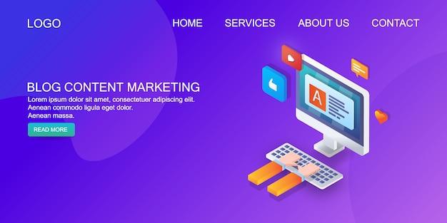 Marketing de contenu de blog