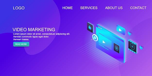 Marketing vidéo numérique