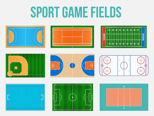 Marquage des terrains de jeux sportifs