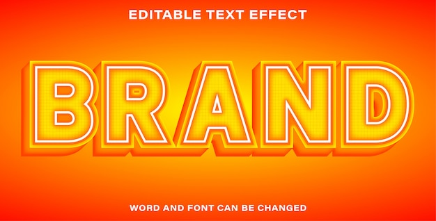 Marque bel effet de texte
