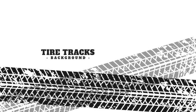 Les marques de pneus grunge imprimer fond de texture