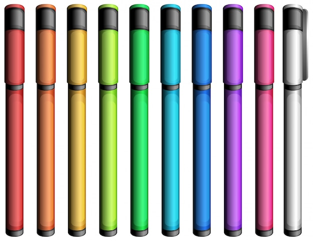 Marqueurs colorés