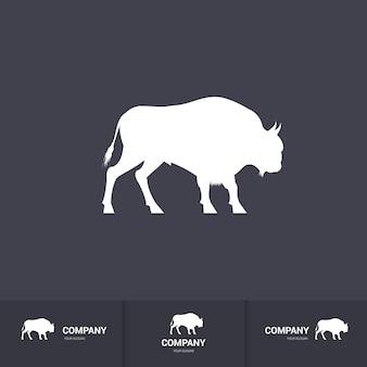 Mascotte de bison