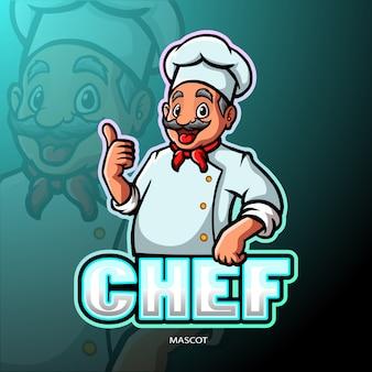 Mascotte de chef