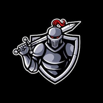 Mascotte chevalier