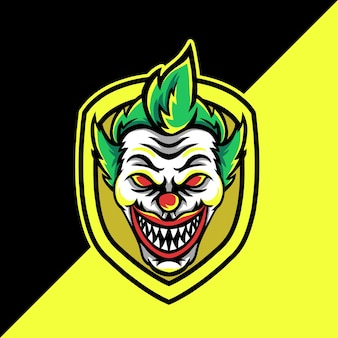 Mascotte de clown esport