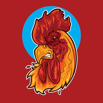 Mascotte de coq