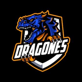 Mascotte du logo dragon